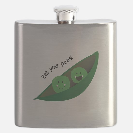 Eat Your Peas Flask