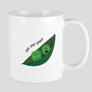 Eat Your Peas Mugs