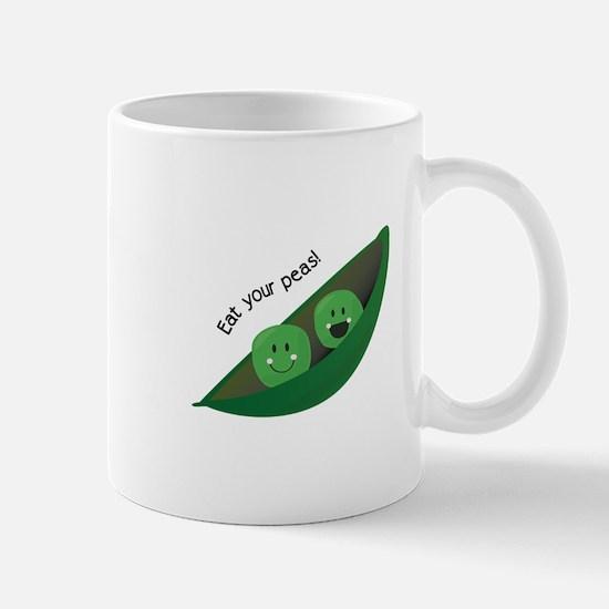 Eat Your Peas Mugs