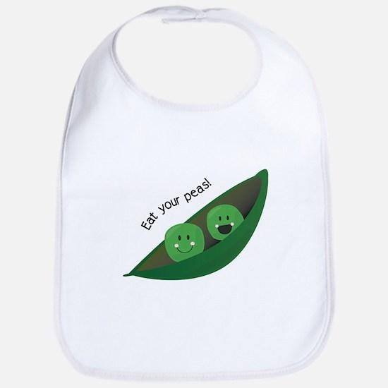 Eat Your Peas Bib