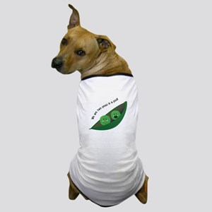 Two Peas in Pod Dog T-Shirt