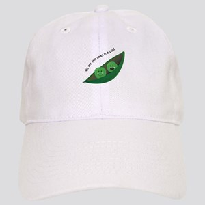 Two Peas in Pod Baseball Cap