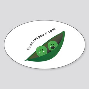 Two Peas in Pod Sticker