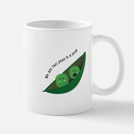 Two Peas in Pod Mugs