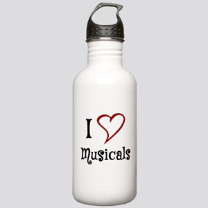 I Love Musicals Water Bottle
