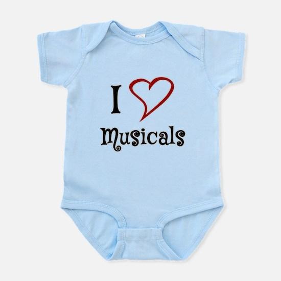 I Love Musicals Body Suit