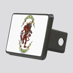 Krampus Yule Be Sorry! Hitch Cover