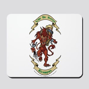 Krampus Yule Be Sorry! Mousepad