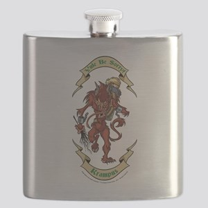 Krampus Yule Be Sorry! Flask