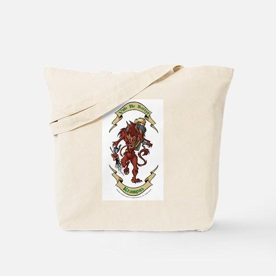Krampus Yule Be Sorry! Tote Bag