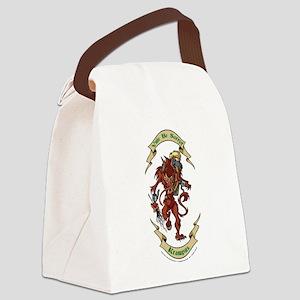 Krampus Yule Be Sorry! Canvas Lunch Bag