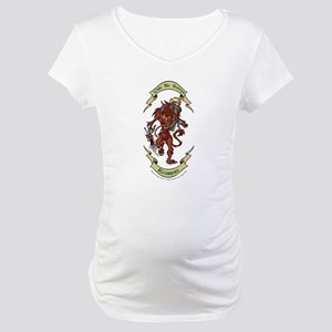 Krampus Yule Be Sorry! Maternity T-Shirt