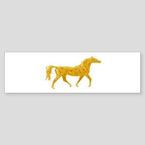 HORSE VIBES Bumper Sticker