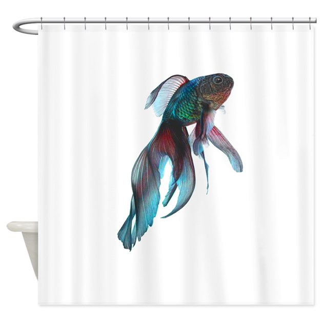 fish shower curtain fancy betta fish shower curtain by admin cp51336015 28792