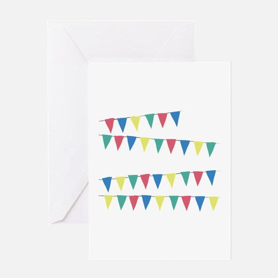 Banner Flag Greeting Cards