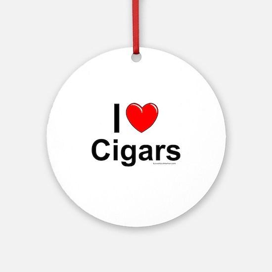 Cigars Ornament (Round)