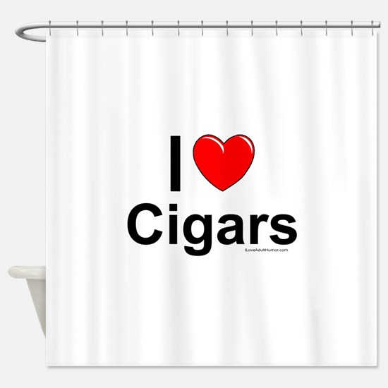 Cigars Shower Curtain