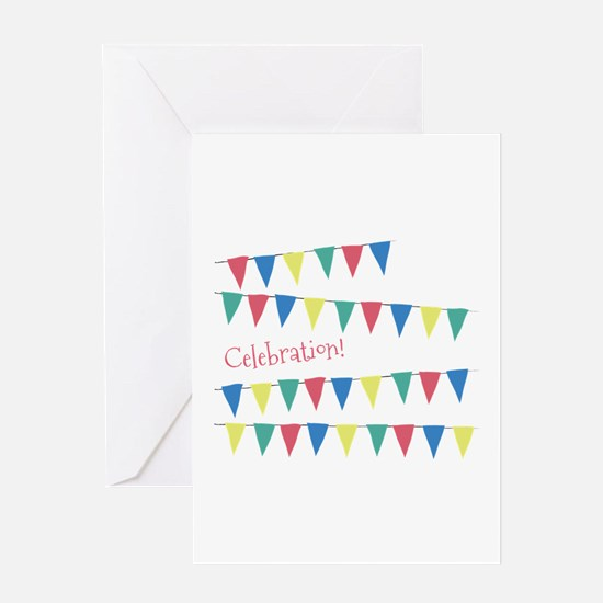 Celebration Flags Greeting Cards