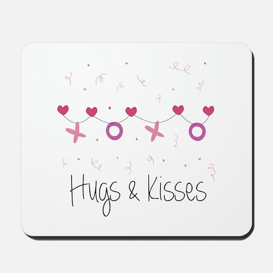 Hugs Kisses Mousepad