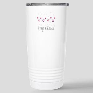 Hugs Kisses Travel Mug