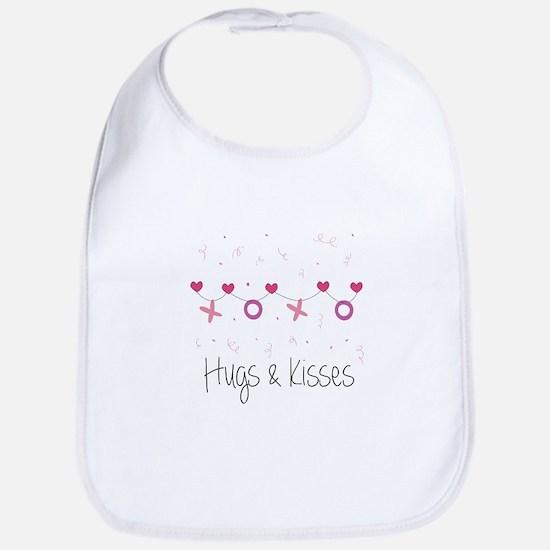 Hugs Kisses Bib