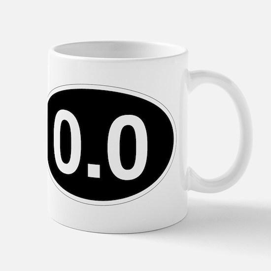 0.0 black Mugs