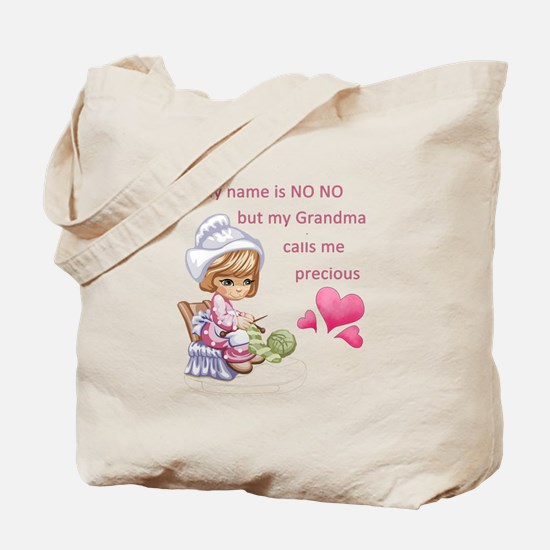 My Name is No No- Tote Bag
