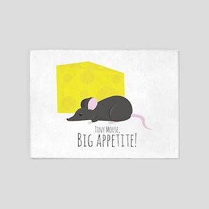 Big Appetite 5'x7'Area Rug