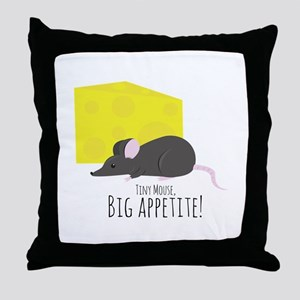 Big Appetite Throw Pillow