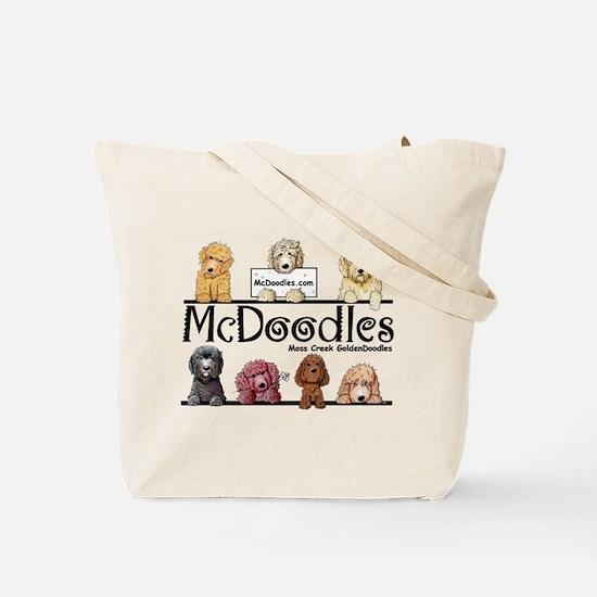 Mcdoodles Boot Camp Tote Bag