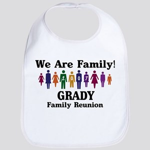 GRADY reunion (we are family) Bib
