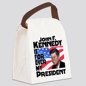 JFK Forever Canvas Lunch Bag
