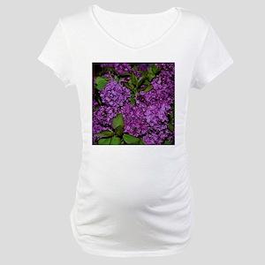 Lilac Maternity T-Shirt