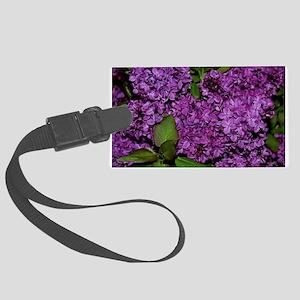 Lilac Large Luggage Tag