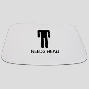 Needs Head Bathmat