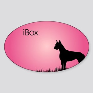 boxer_laptop_watermelon2 Sticker