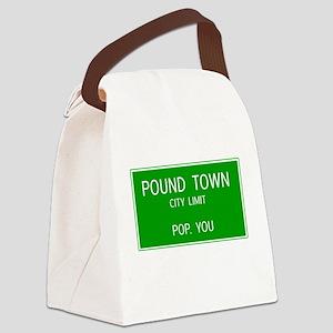 Poundown City Limits Canvas Lunch Bag