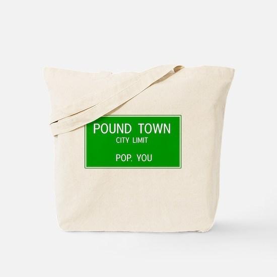 Poundown City Limits Tote Bag