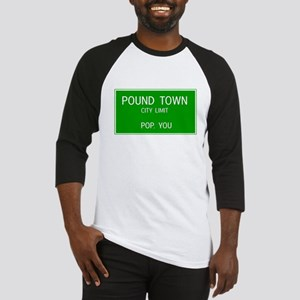Poundown City Limits Baseball Jersey