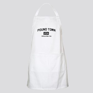 Poundtown Population You Apron