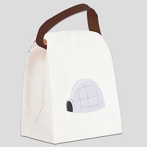 Eskimo Igloo Canvas Lunch Bag