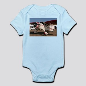 Stinson Aircraft (red & white) Body Suit