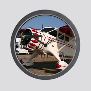 Stinson Aircraft (red & white) Wall Clock