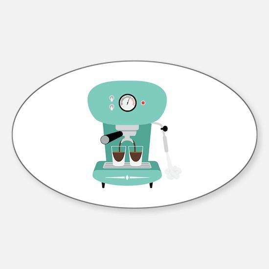 Espresso Coffee Machine Decal