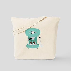 Espresso Coffee Machine Tote Bag