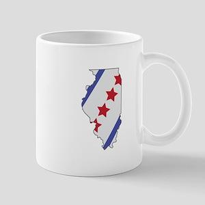 Illinois Map Mugs