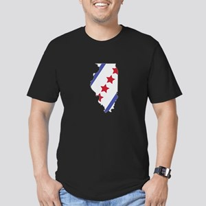 Illinois Map T-Shirt