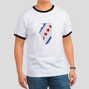 Illinois Map T-Shirt