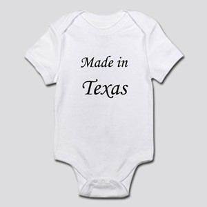 Texas Infant Bodysuit