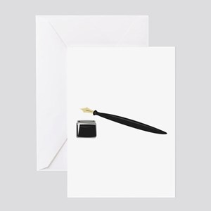 Calligraphy Pen Greeting Cards
